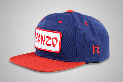 The Blue and Red Patch Snapback